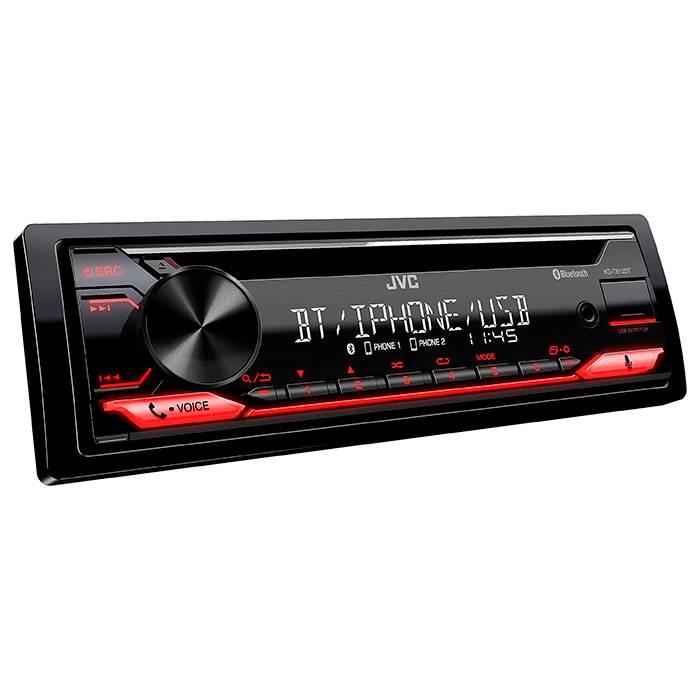 JVC autoradio KD-T812BT CD / RDS turner m. Bluetooth