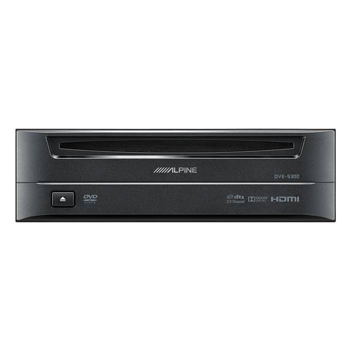 Image of   Alpine DVE5300 CD/DVD afspiller 1-DIN m. HDMI