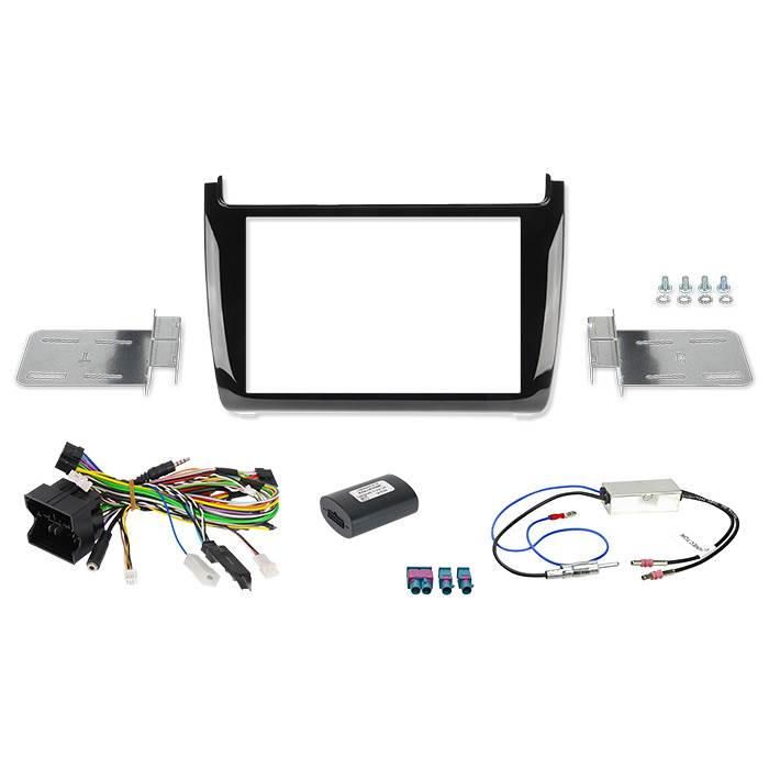 "Image of   Alpine 2-DIN 8"" Kit f. VW Polo 5/GTI 2014-"