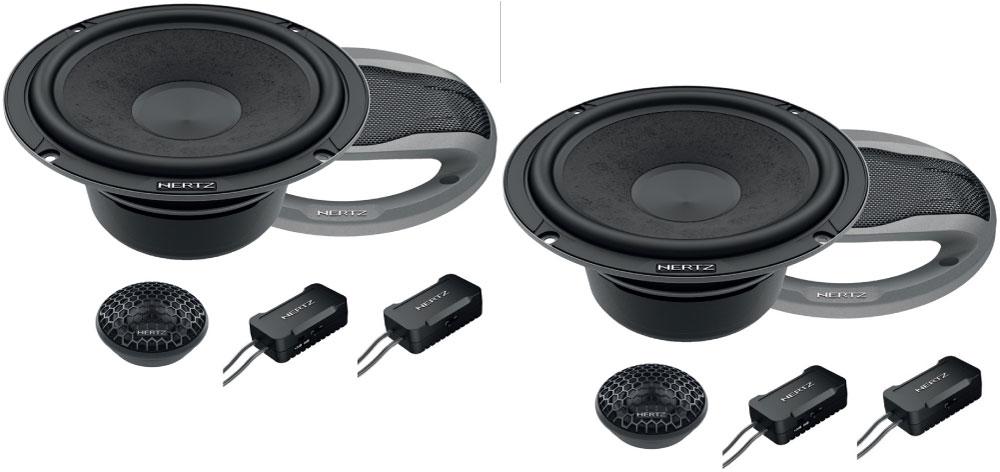 Image of   Hertz CK165L Cento 165 mm komponent højtaler sæt