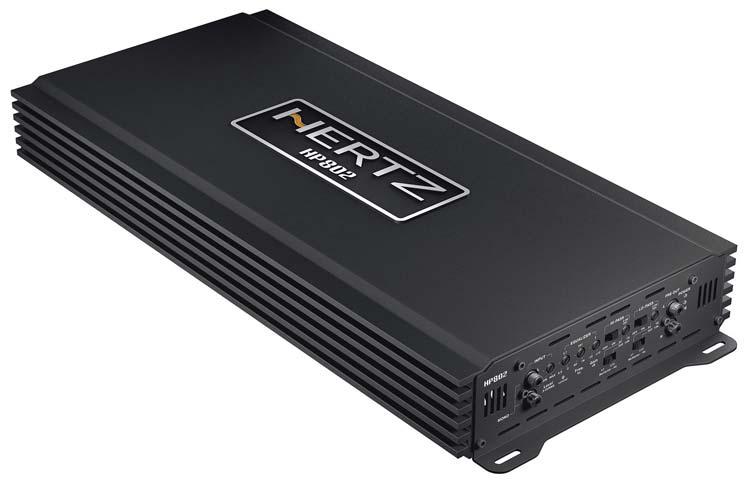 Image of   Hertz HP802 SPL Show forstærker 1800 watt