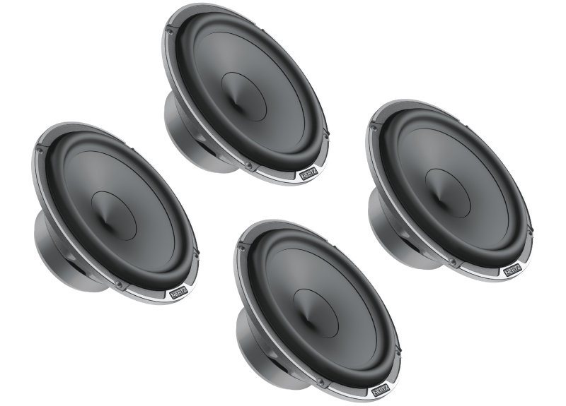 Image of   Hertz MP165.3 Subwoofer 165 mm, 2 sæt - 4 stk