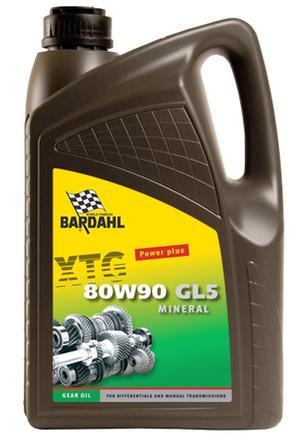 Image of Bardahl Gearolie - 80W/90 GL5 5 ltr