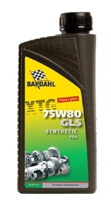 Image of Bardahl Gearolie - XTG 75W80 GL5 PSA 1 ltr