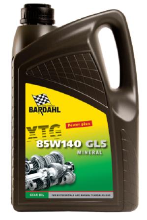 Image of Bardahl Gearolie - XTG 85W/140 GL5 5 ltr.