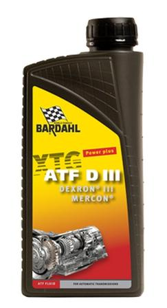 Image of Bardahl Gearolie - Automatgearolie ATF Dexron III 1 ltr