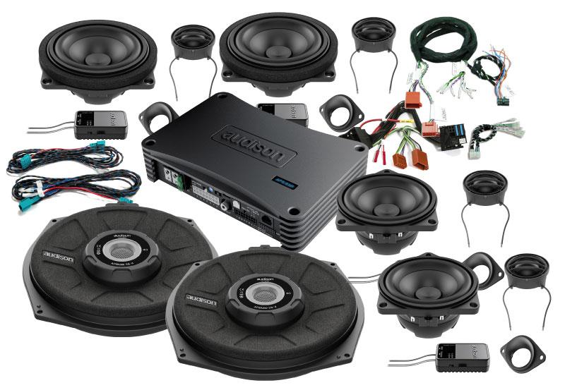 Image of   Audison SoundPack til BMW 5 serie fra 2010 > bl.a.