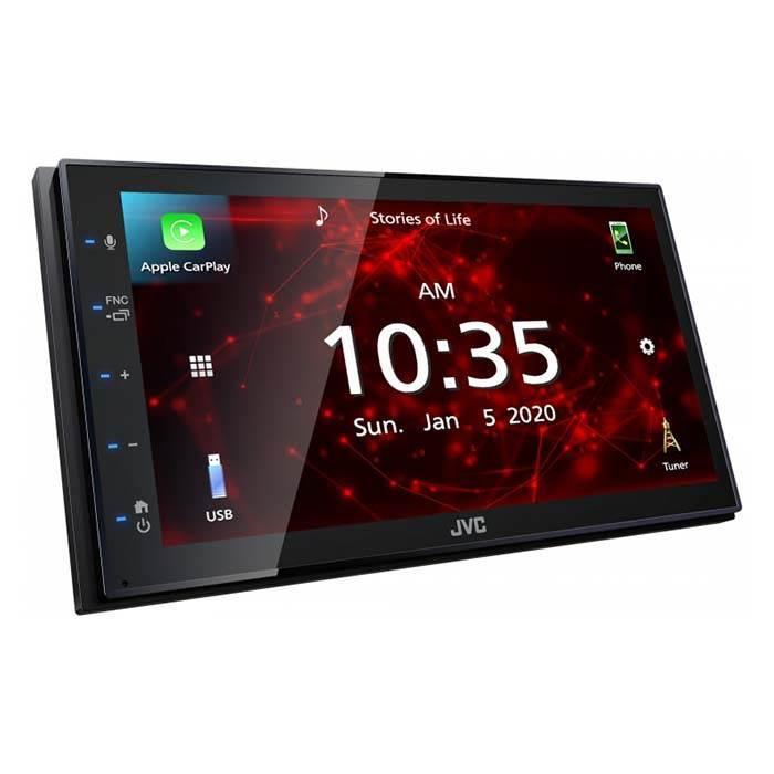 JVC autoradio KW-M560BT 2 DIN App Radio / Carplay & Android